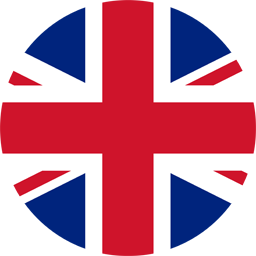 united kingdom flag round