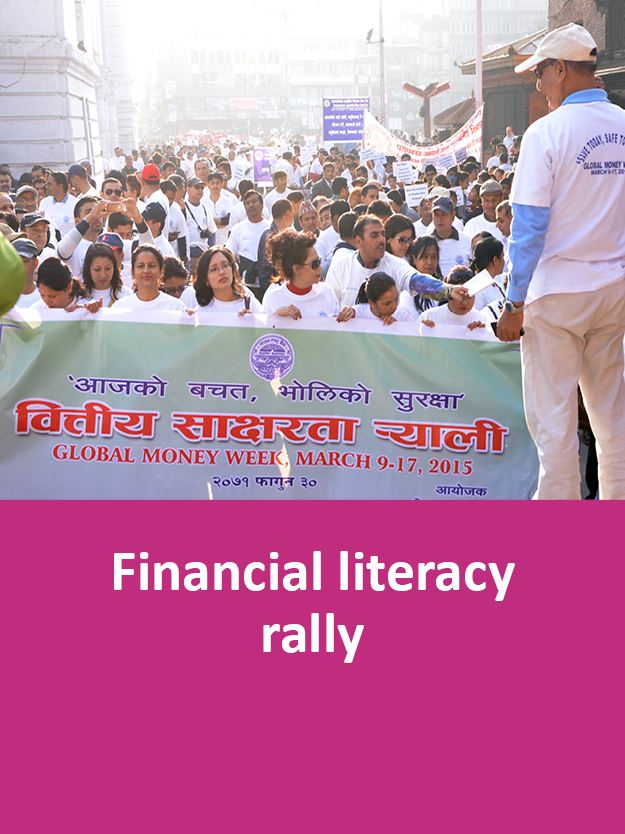 financial literacy rally